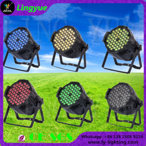 Indoor DMX 54X3w RGB 3in1 PAR Can LED Stage Lighting pictures & photos