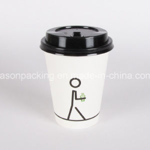 Disposable Hot Drink Paper Cup Coffee with Lids pictures & photos