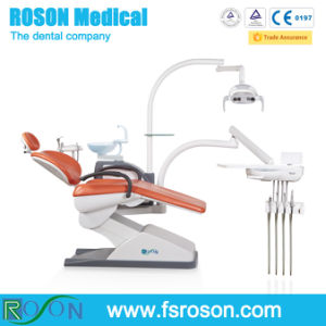 Economical Dental Chair with Top-Mounted Dental Device Dental Handpiece Holder pictures & photos
