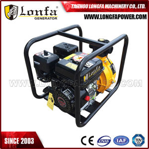 3inch 6.5HP Manual Start Portable Gasoline Engine Water Pump pictures & photos