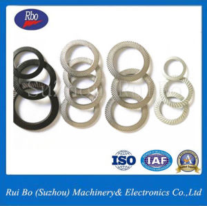 China Made Fastener DIN9250 Double Side Knurl Lock Washer/DIN9250 pictures & photos