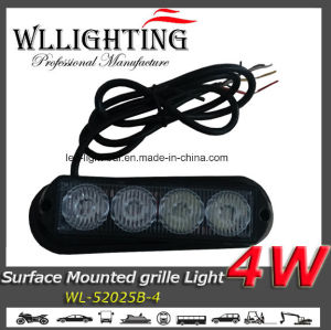 Surface Mounting 4 W LED Strobe Warning Head Light pictures & photos