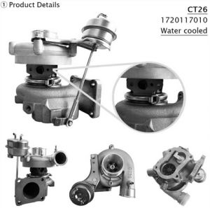 Turbo Engine 17201-17010 CT26 for Toyota Landcruiser Td (HDJ80, 81) pictures & photos