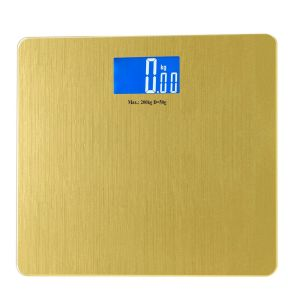 Golden 8mm Glass Big Platform Household Weighing Scale pictures & photos