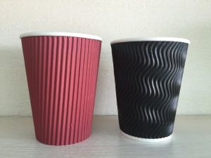 8oz High Quality Ripple Paper Cup (YHC-101) pictures & photos