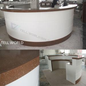 Front Reception Counter Desk Modern Design Desk pictures & photos