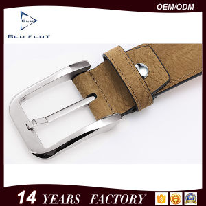 Factory Wholesale Genuine Full Grain Leather Men Waist Belts pictures & photos