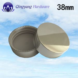 38mm Shiny Silver Plastic UV Caps for 150ml Bottle pictures & photos