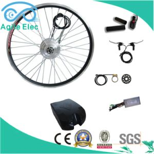 250W Geared Wheel Motor Electric Bike Kit with Battery pictures & photos