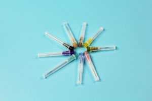 Hypodermic Disposable Medical Syringe Needle with Ce, ISO13485 pictures & photos