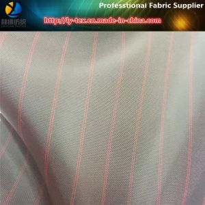 Black Polyester Yarn Dyed Stripe Fabric for Garment Lining (S14.24) pictures & photos