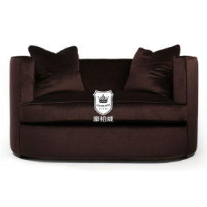 Charming Fabric Loveseat Sofa in Couple Room pictures & photos