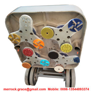 Aluminum Alloy Die-Casts Base Plate 12 Heads 15HP Concrete Grinder pictures & photos