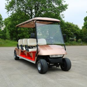 Quality Choose 6 Seater Electric Golf Cart for Golf Course /Hotel /Holiday Village pictures & photos
