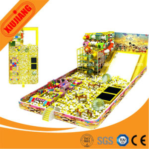 Indoor Playground Slide Soft Plastic Ocean Ball Pool for Kids pictures & photos