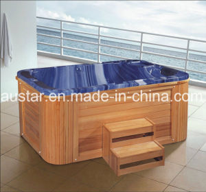 1900mm Free Standing Blue Outdoor SPA for 3 People (AT-1935) pictures & photos