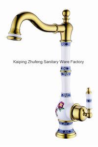 New Black Design Antique Basin Faucet (Zf-608) pictures & photos