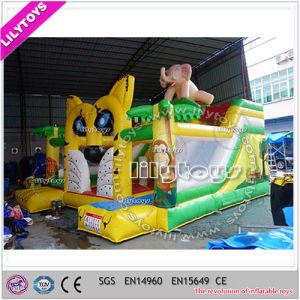 Global Selling Inflatable Jumping Combo for Sale --0.55 mm PVC pictures & photos
