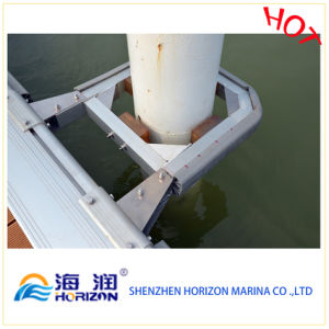 Floating System Marina Pile Guide Made in China / Dock pictures & photos