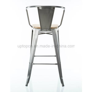 Wholesales Multi Color High Metal Bar Chair with Arm (SP-MC076) pictures & photos