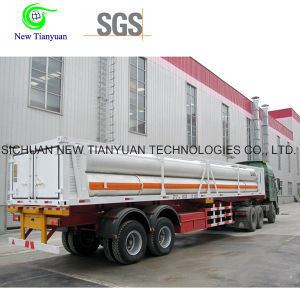 12 Tubes CNG Tube Bundle Container, CNG Semi-Trailer pictures & photos