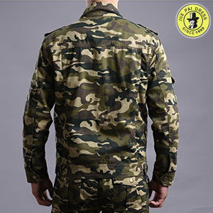 Custom Men′s Long Sleeve Military Uniforms pictures & photos