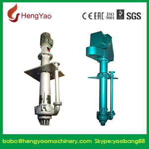 Rubber Vertical Centrifugal Slurry Pumps