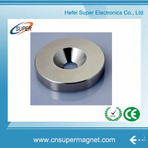 Promotional Sintered Neodymium Ring Magnet pictures & photos