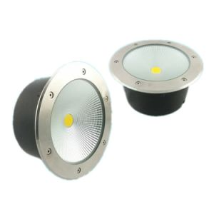 40W COB LED Deck Inground Light, Stainless Steel LED Floor Light pictures & photos