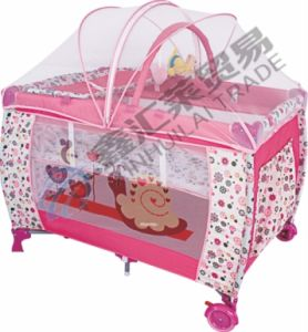 Second Layer Mosquito Net with Zipper Baby Playpen pictures & photos