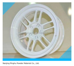 White Powder Coating for Automotive Hub pictures & photos