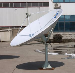 1.8m Satellite Earth Station Rx Only Dish Antenna pictures & photos