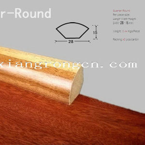 Laminate Accessory Named Quarter Round Use for Floor 2400*28*15mm