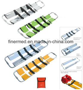 Adjustable Aluminum Alloy Scoop Stretcher pictures & photos