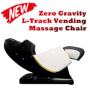 High End L-Track Credit Card Ict Coin and Bill Commercial Vending Massage Chair pictures & photos