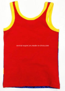 fashion Cotton Boy Tank Top Children Wear pictures & photos