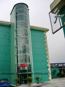 Safety Tempered Curved Elevator Glass pictures & photos