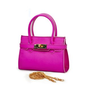 Teen Girls Fashion Crossbody Bags Leather Tote Bag pictures & photos
