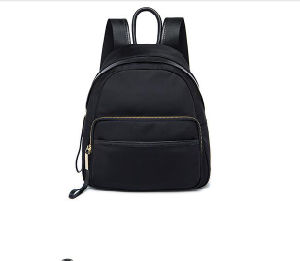 2017 New Canvas Casual Backpack Bag Wholesale Single Color Neutral Bag Hcy-5024 pictures & photos