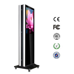 22 Inch Android Network WiFi 3G 4G LCD Advertising Digital Signage Totem (MW-211ALN) pictures & photos