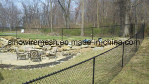 PVC Coated / Galvanized Chain Link Fence, Garden Fence pictures & photos