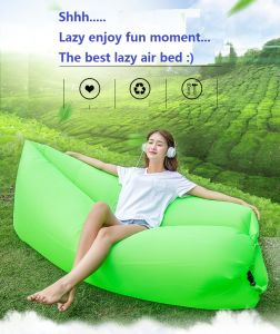 Comfortable Ripstop Inflatable Air Sleeping Bag for Outdoor pictures & photos