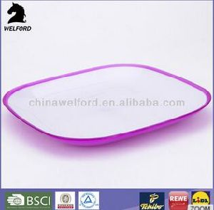 Hot Selling Dual Purpose Competitive Plastic Plate pictures & photos