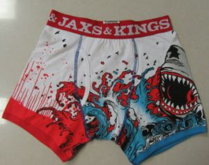 Custom Boxer Shorts Men Underwear with 3D Printing pictures & photos