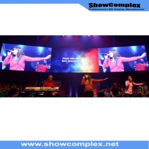 Hot Sale of Indoor Full Color LED Display Screen for Model Show (P3) pictures & photos