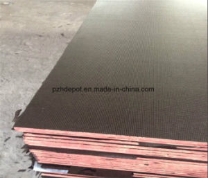 Anti-Slip WBP Shuttering Plywood Brown Film Faced Plywood for Concrete Formwork pictures & photos