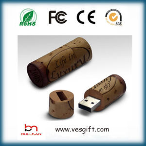 OEM Wooden Winery Cork USB Memory Stick USB Pen pictures & photos