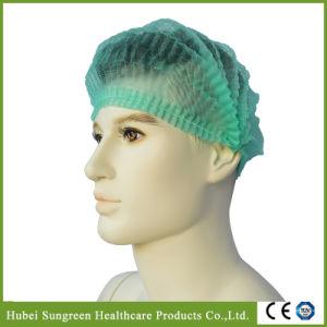 Disposable Non-Woven Clip Cap, Mob Cap, Bouffant Cap, Surgical Cap, Doctor Cap pictures & photos