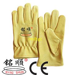 Pigskin Driver′s Gloves