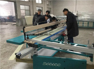 Automatic Cutting Table Machine for Plastic Material pictures & photos